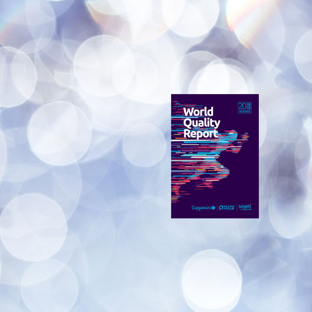 World Quality Report 2018-19